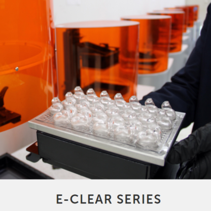 envisionTEC Materials E-CLEAR SERIES